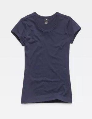 Liixa Slim T-Shirt blau Gr. M
