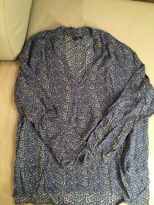 LIKE A BIRD Shirtbluse, Bluse, Gr. 44 gemustert, NEU und ungetragen