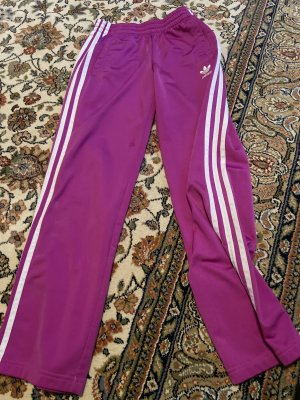 Adidas Trackies violet-white polyester