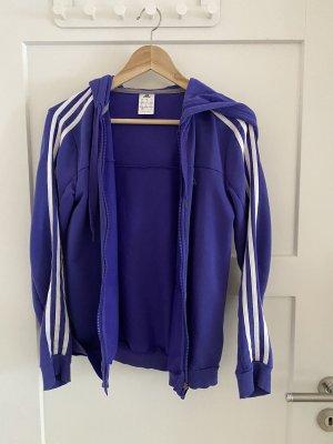 Adidas Giacca fitness viola Cotone