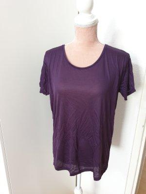lila Basic - Shirt