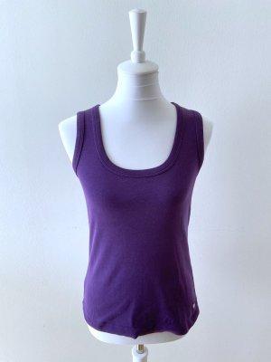 Street One Off-The-Shoulder Top lilac-dark violet