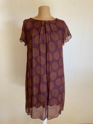 Lila braunes Kleid