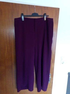 Zizzi Pantalone culotte marrone-viola