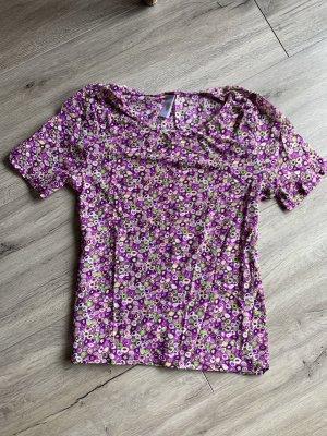 Lila gemustertes Joop Shirt