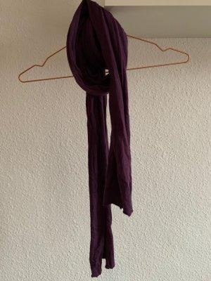 lila Jersey-Schal