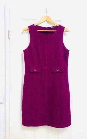 Betty Barclay Robe en laine magenta-violet laine