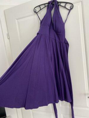 Takko Fashion Robe épaules nues violet