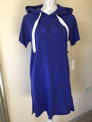 Lila Kleid mit Kapuze Gr.XS-S