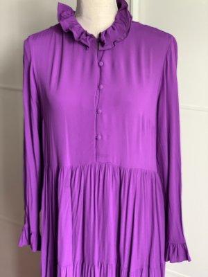 Lila Kleid von Zara