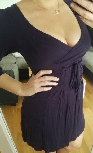 Zara Vestido de tela de sudadera multicolor