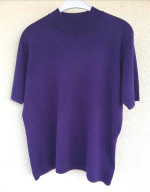 BARBARA LEBEK Maglione a maniche corte lilla-viola scuro