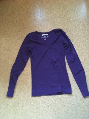 H&M L.O.G.G. Shirt dark violet