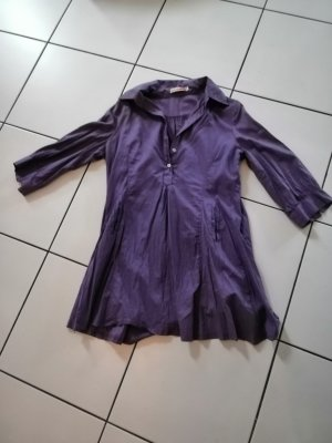 Blouse en crash violet