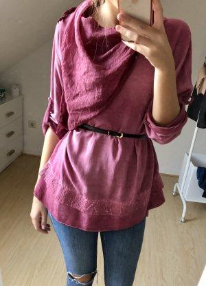 c.a.r.o. Długa koszulka fioletowy Bawełna