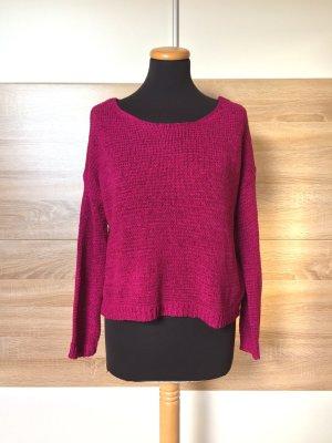 Lila pink Strick Pullover, Sweater von Forever21, Gr. S (NEU)