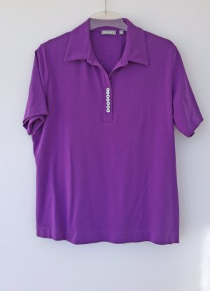 Acne Polo shirt lila-lila