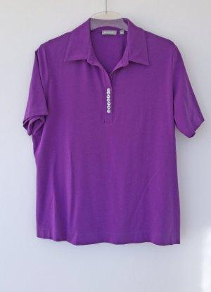 lila Poloshirt von Rabe, Größe 48
