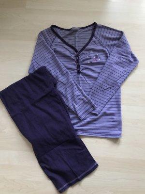 Ernstings Family Pijama púrpura-violeta oscuro