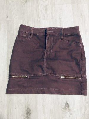 Hollister Falda estilo cargo rojo zarzamora-violeta amarronado