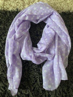 Summer Scarf white-purple