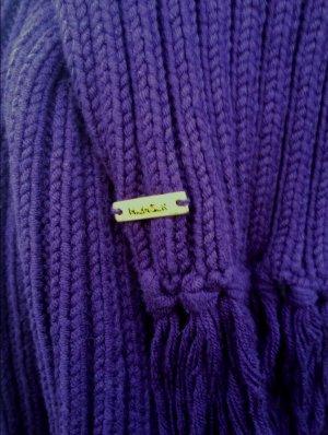 Tommy Hilfiger Bufanda de punto violeta oscuro
