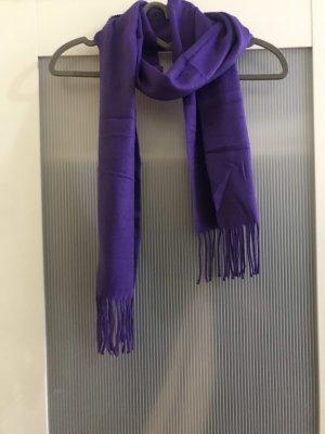 Esmara Bufanda de flecos violeta oscuro