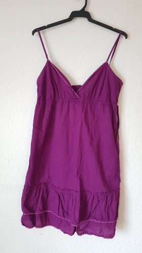 Broadway Vestido bustier púrpura Algodón