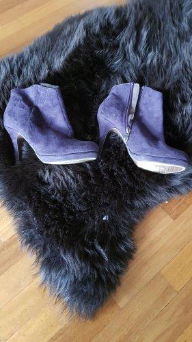 Tamaris Bottes à talon violet
