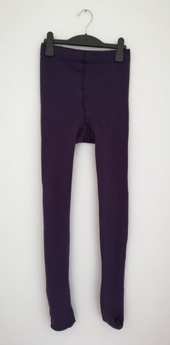 Leggings rosso mora-viola scuro