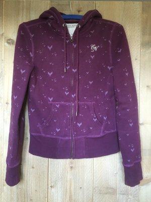 Cordon Sweat Jacket dark violet