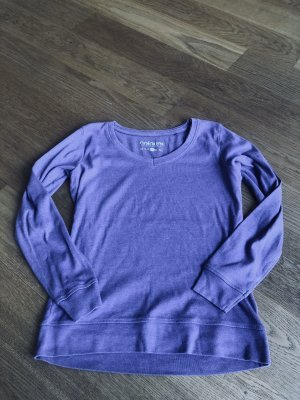 Lila Sweatshirt Größe L