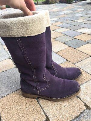 Tamaris Winter Boots grey violet-natural white