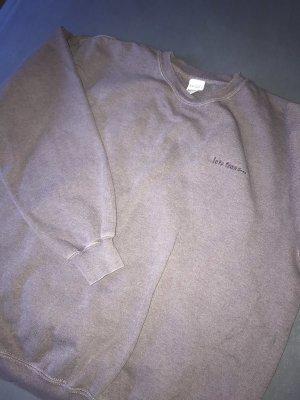 Lila Urban Outfitters Sweatshirt Unisex oversized