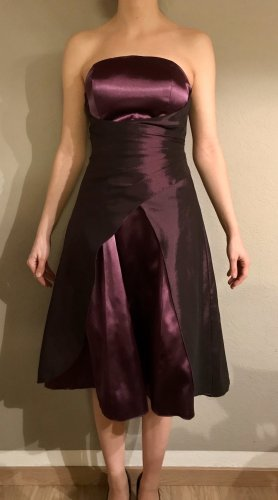 Lila/violettes Ballkleid Abendkleid