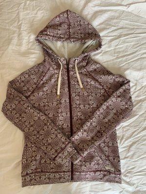 Review Capuchon vest wit-paars