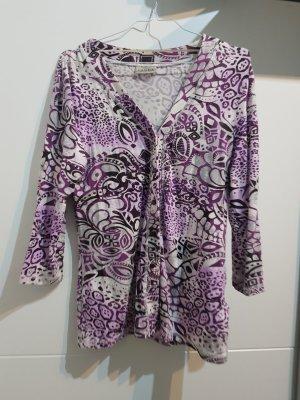 Canda Veste chemisier blanc-violet
