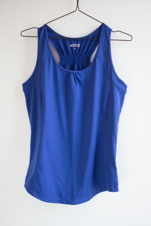 active Tanktop blauw-paars Gemengd weefsel