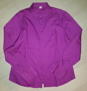 Lilafarbene Bluse von Eterna Excellent, Größe40, NEU