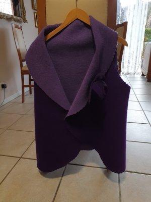 Fleece vest lila Vilt