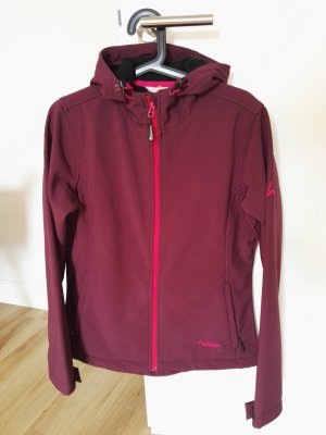 hickory Giacca softshell rosso mora-rosso lampone