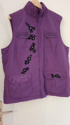 Gina Laura Sports Vests violet-lilac mixture fibre