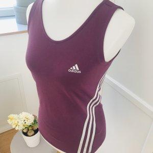 Adidas Koszulka sportowa fiolet-biały