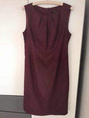 Zero Sukienka etui brązowo-fioletowy