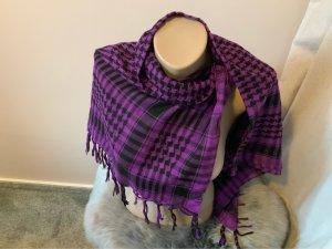 Shemagh dark violet-black