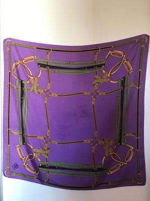 Bogner Foulard en soie violet foncé soie