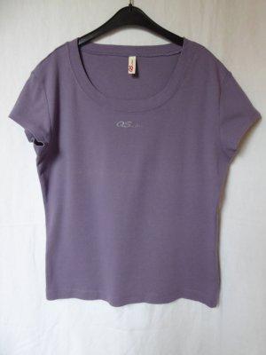 Lilafarbenes T-Shirt von QS (S.Oliver)