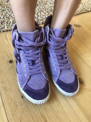 Asos Basket montante violet-violet