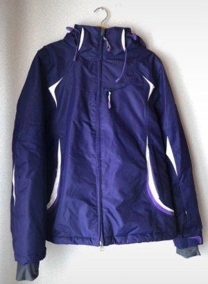 Alpine Pro Winter Jacket white-lilac
