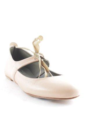Lili Mill Lackballerinas altrosa schlichter Stil